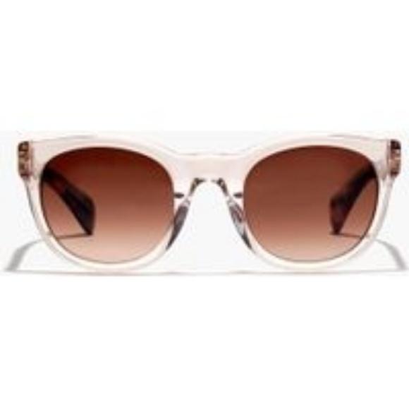 105aa2f22d J. Crew Accessories - J. Crew Sam Sunglasses in Clear Blush Crystal